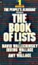 The Book of Lists by David Wallechinsky