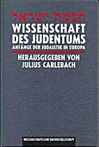 Wissenschaft des Judentums = [Ḥokhmat…