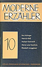 Moderne Erzähler 10 by Paul Dormagen