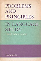 Problems and Principles in Language Study by…