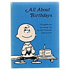 All About Birthdays : Thoughts on Growing Up…