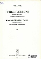 Ungarischer tanz by Balassa György