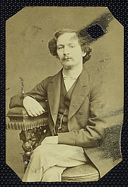 Author photo. Courtesy of the <a href=&quot;http://digitalgallery.nypl.org/nypldigital/id?484075&quot;>NYPL Digital Gallery</a> (image use requires permission from the New York Public Library)