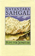 Plans for Departure by Nayantara Sahgal