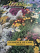 Xeriscape Maintenance Journal: Evidence of…