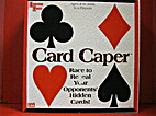 Card Caper {game} by University Games