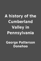 A history of the Cumberland Valley in…