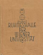 Ruhmeshalle der Wiener Universität :…