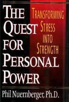 The Quest for Personal Power by Phil…