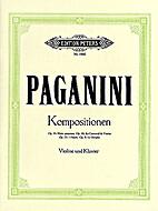 I Palpiti Op. 13 (Violin & Piano) by Nicolo…