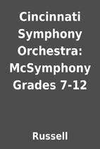 Cincinnati Symphony Orchestra: McSymphony…