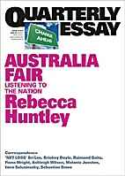 Australia Fair : Listening to the nation by…