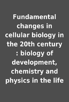 Fundamental changes in cellular biology in…