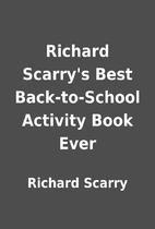 Richard Scarry's Best Back-to-School…