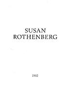 Susan Rothenberg: Paintings 1992 by Susan…
