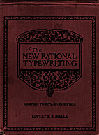 The New Rational Typewriting 1927 Edition by…