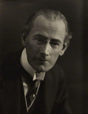 Author photo. William John Locke - Photo by Emil Otto ('E.O.') Hoppé
