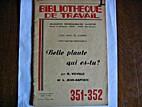 Bibliothèque de travail n° 351/352 Belle…