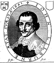 Author photo. Scanned from frontispiece to An Answer to Nine Arguments Written by T. B. / written long since by ... John Lilburne (London, 1644).