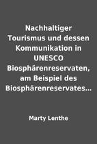 Nachhaltiger Tourismus und dessen…