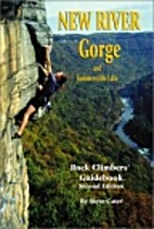 New River Gorge rock climbers' guidebook by…