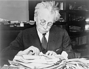 Author photo. World Telegram & Sun photo, 1937 (Library of Congress Prints and Photographs Division, LC-USZ62-119095)