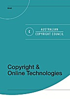 Copyright & Online Technologies by Fiona…