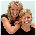 Author photo. Sara Ellington and Stephanie Triplett ~ Photo courtesy of Hay House, Inc.