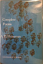 Complete Poems by A. E. Housman
