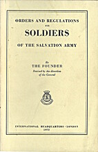 ORDERS AND REGULATIONS FOR SOLDIERS OF THE…