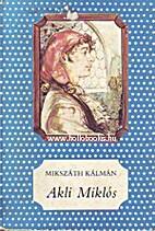 Akli Miklós cs. kir. udvari…