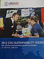 2012 CSO sustainability index (English)