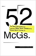 52 McGs. by Robert McG. Thomas