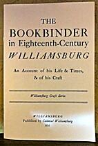 Bookbinder in Eighteenth Century…