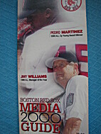 Boston Red Sox Media Guide 2000