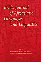 Brill's Journal of Afroasiatic Languages…