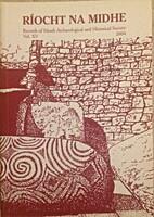 Riocht na Midhe, Vol. XV (2004), records of…