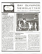 Gay Olympics Newsletter (Issue #2) Opening…