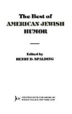 The Best of American Jewish Humor by Henry…