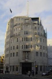 Author photo. BBC Broadcasting House, London, UK <br>Canley (Wikipedia user)