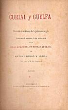 Curial y Guelfa: novela catalana del quinzen…