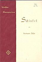 Schinkel by Hermann Ziller
