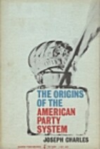 The origins of the American party system;…