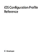 iOS Configuration Profile Reference by Apple