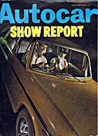 Autocar Show Report 23 October 1969