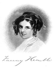 """Author photo. From """"Records of a Girlhood"""" by Frances Anne Kemble"""