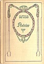 Poésies by Alfred de Vigny