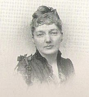 Author photo. Grace Denio Litchfield (b.1849), Buffalo Electrotype and Engraving Co., Buffalo, N.Y.