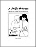 A Checklist for Parents by Pam Forster