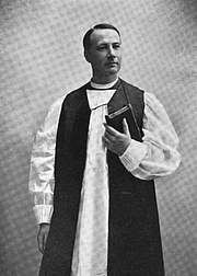 Author photo. Photograph of A. C. A. Hall, Episcopal Church, Bishop of Vermont. 1 January 1904.